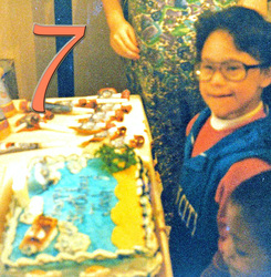 Seventh birthday