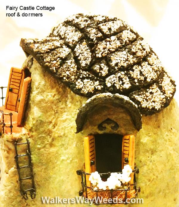 Fairy Castle Cottage Roof