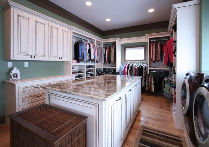 Custom Cabinets For Closets By Walker Woodworking