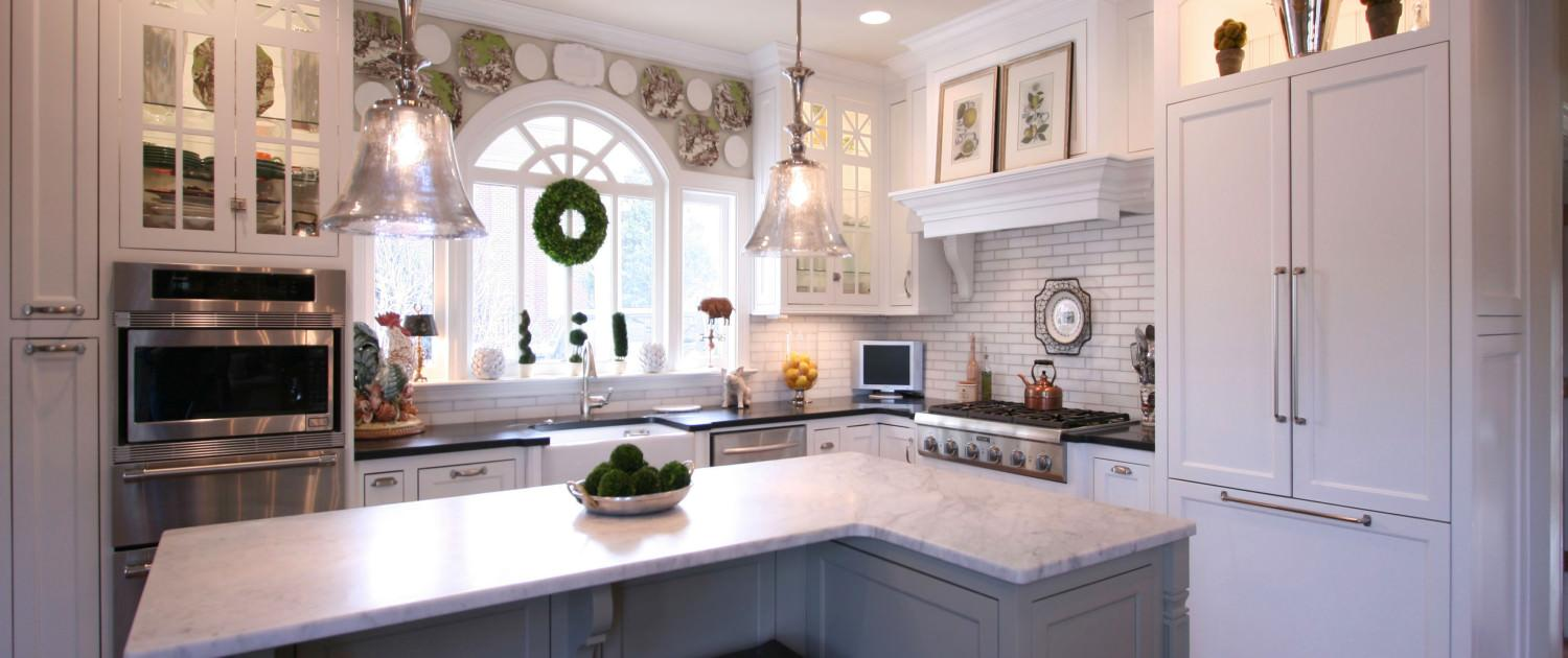Transitional White Cabinetry Project 4 Walker Woodworking
