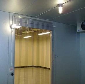 strip curtain kit 38x84 low temp slide in strips 401sa606