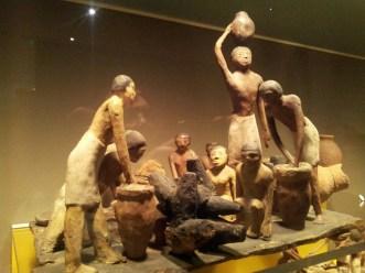 Preparando la birra, Museo Archeologico di Bologna