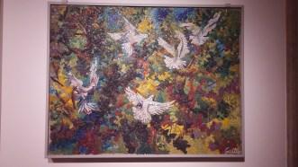 Mosaico moderno al MAR di Ravenna