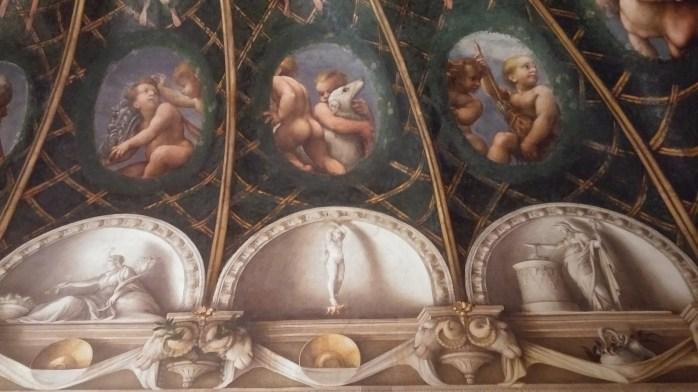 Camera della Badessa, Parma