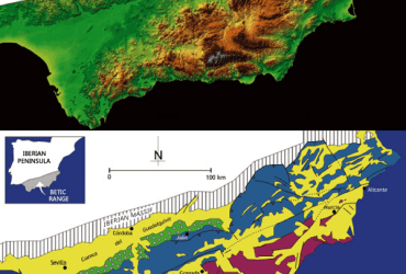 Geology of South East Spain
