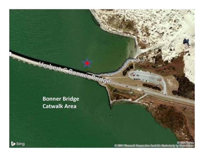 Bonner Bridege Catwalk Area