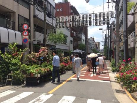 Plants & Bonsai Market of Asakusa Sengen Shrine