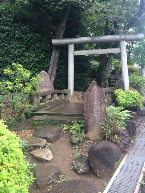 The entrance of Fuji-zuka