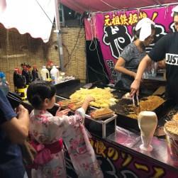 Yakisoba, the fried noodles