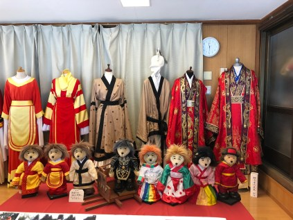 Korean Costumes in Koma Jinja Shrine