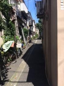 Narrow Street near Minowa, Tokyo