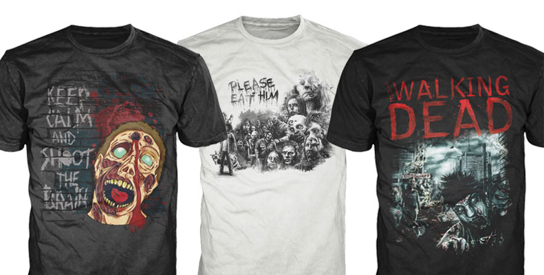 Camisetas The Walking Dead Brasil