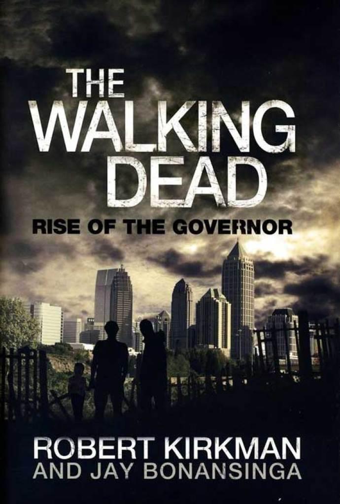 """Capa das versões americana e europeia do livro """"The Walking Dead: Rise of Governor""""."""