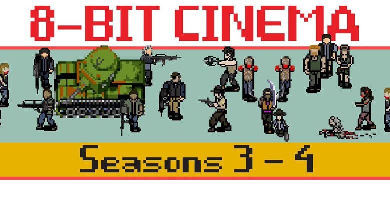 The Walking Dead ganha versão em 8 bit (3ª e 4ª temporadas)