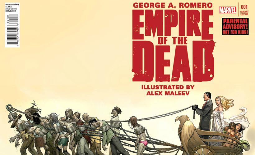 Empire of the Dead | HQ de George Romero vai virar série de TV