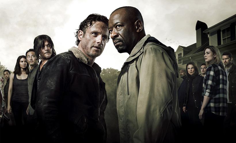 Banner da 6ª temporada de The Walking Dead para a Comic Con 2015