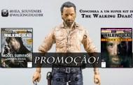 [PROMOÇÃO] Boneco Rick Grimes e Revistas de The Walking Dead