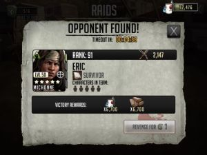 The Walking Dead Road to Survival - Raids Revenge Attack