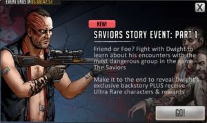 Saviors Roadmap Mission