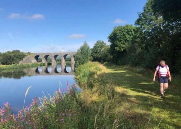 Towpath along the Barrow River