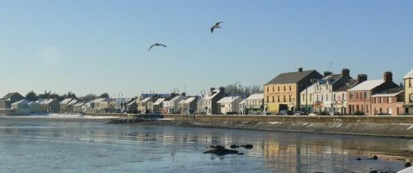 Blackrock village starting your walking and hiking tour in Ireland's ancient east