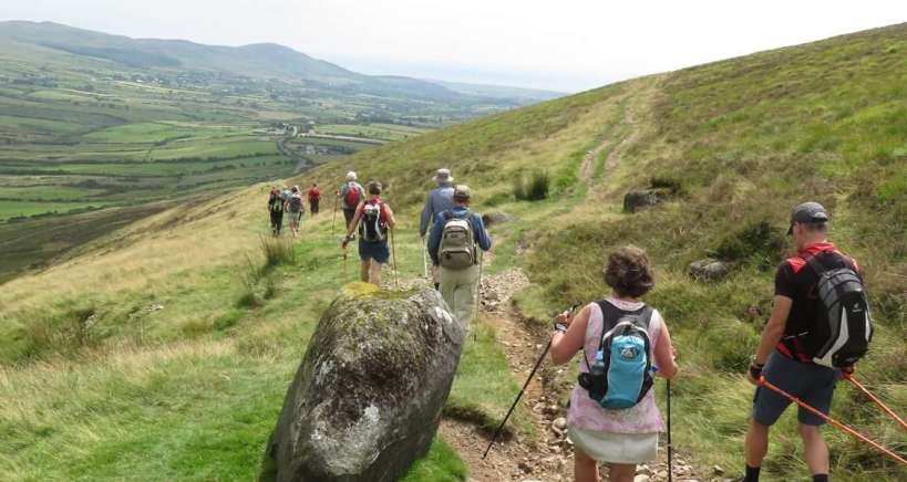 Hiking in Ireland on the Cooley Peninsula - Walking Tour - Walking Holiday Ireland