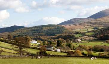 Mourne Mountains in Northern Ireland 1