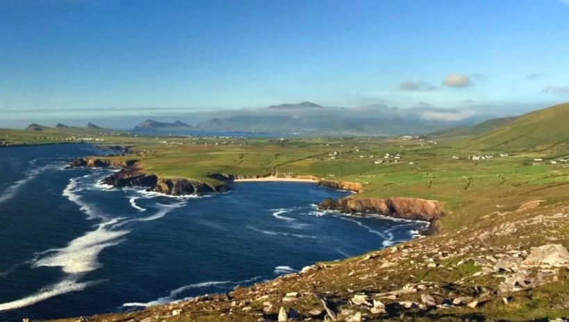 Dingle Peninsula offering amazing views during your hike