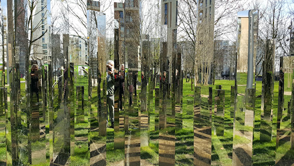 Victory Park Mirror Labyrinth