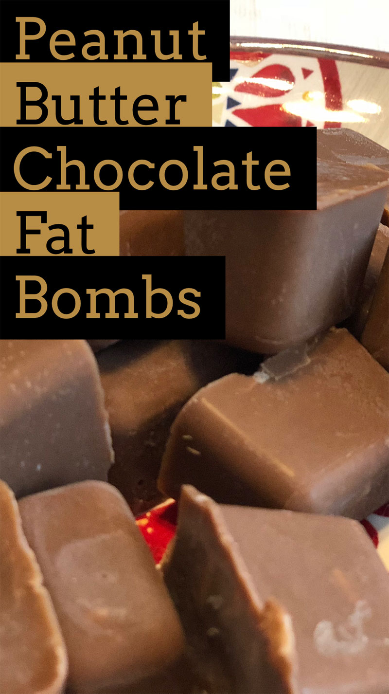 Peanut Butter Chocolate Fat Bombs trader joes keto