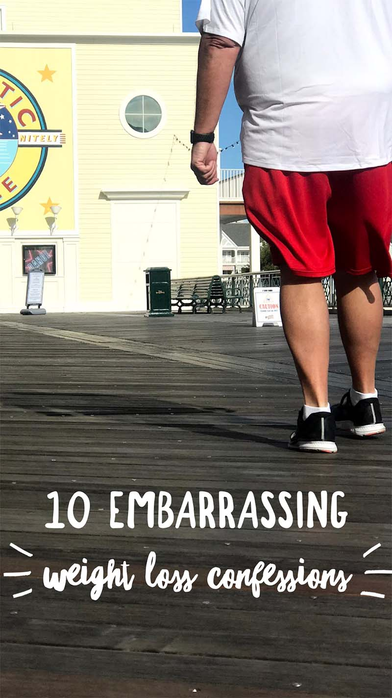 Embarrassing Weight Loss Confessions