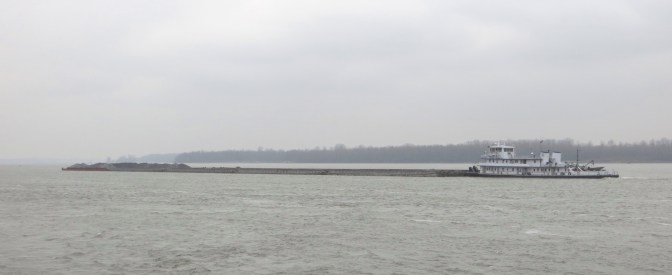 Eastern pushing a barge