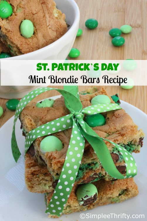 St Patrick S Day Green Treats Walking On Sunshine Recipes