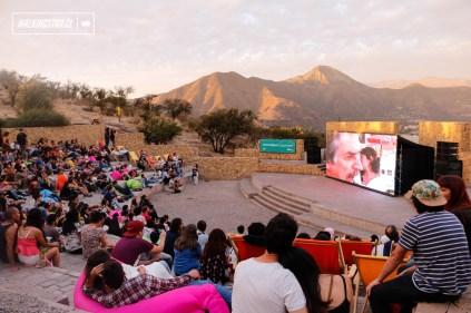 Cine bajo las Estrellas - Parque Metropolitano - 05.03.2017 - WalkingStgo - 1