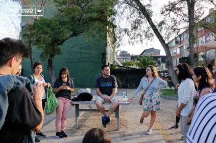 Museo a cielo abierto - San Miguel - Oh Stgo - Mixart - 09.02.2017 - WalkingStgo - 2