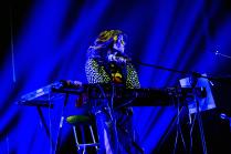 Prehistöricos en vivo en el lanzamiento de su nuevo disco %22La Velocidad de las Plantas%22 en el Teatro Oriente de Santiago5