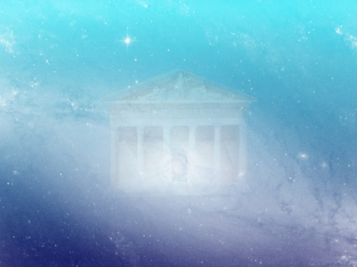 Sea foam green temple