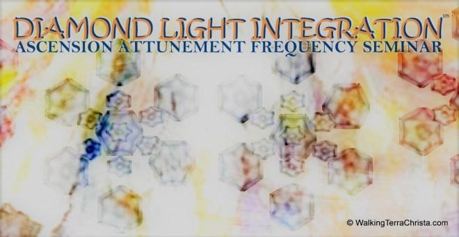 Diamond Light Structures Attunement Class by Walking Terra Christa