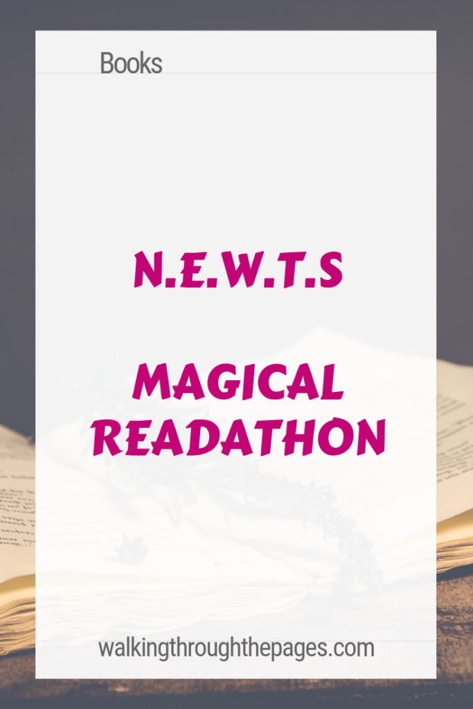 Walking Through The Pages - N.E.W.T.s Readathon TBR