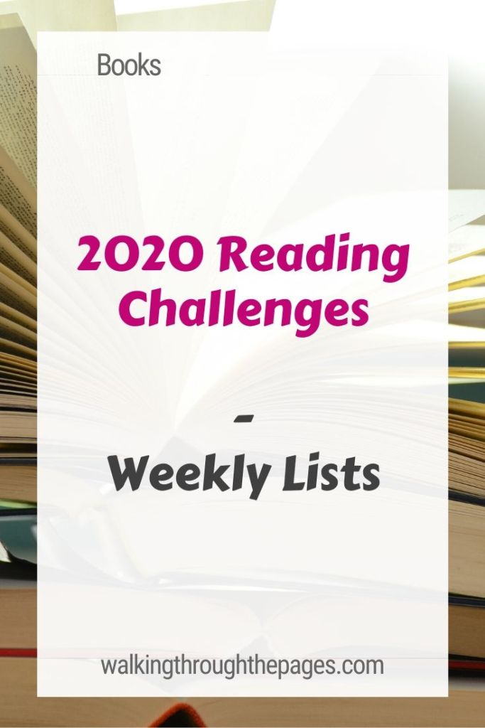 Walking Through The Pages - Weekly Lists: 2020 Reading Challenges to Check Out!