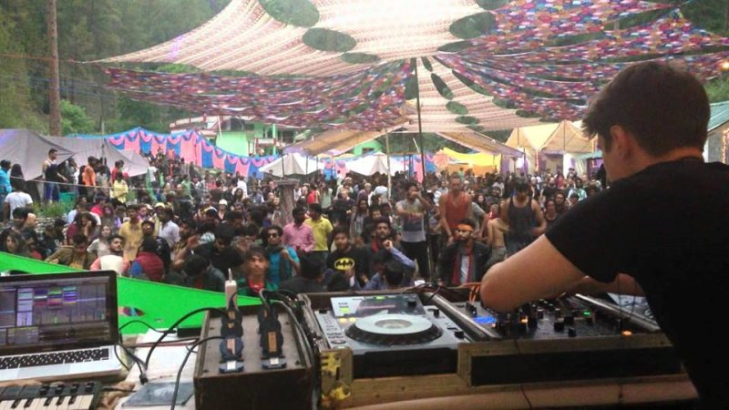 Rave party in kasol