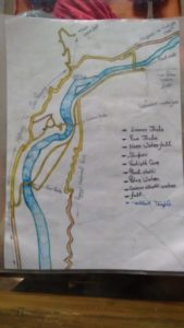 Map to rishikesh
