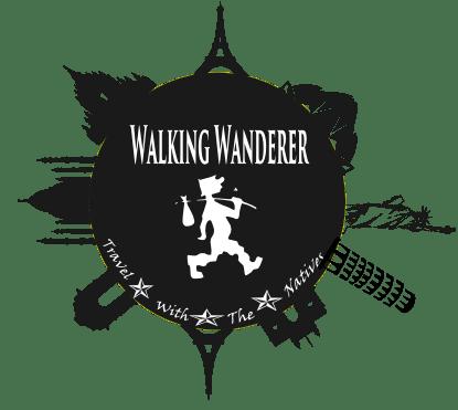 walking wanderer logo