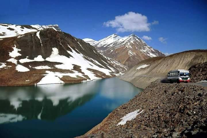 suraj tal lake in spiti valley