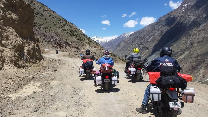 bike expedition to Leh