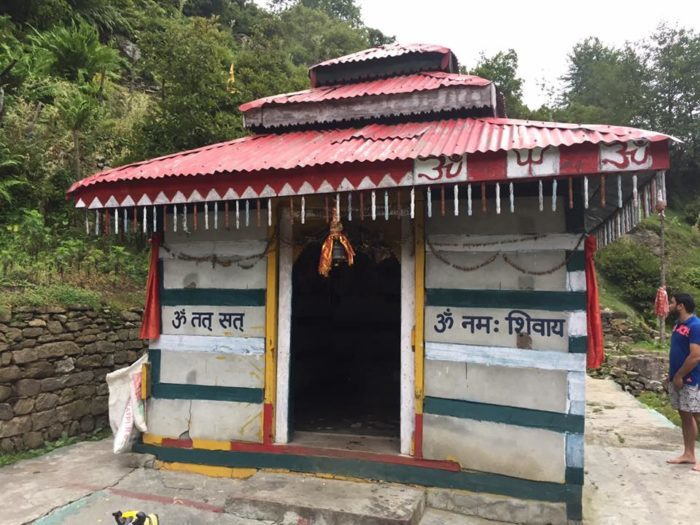 temple at kheerganga