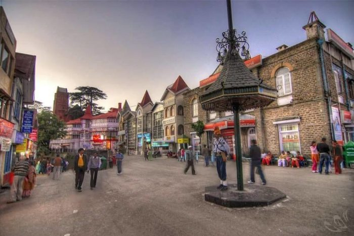 shimla best location in himachal