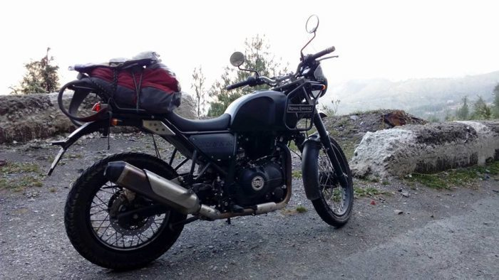 Royal enfield himalayan for rent in bhuntar