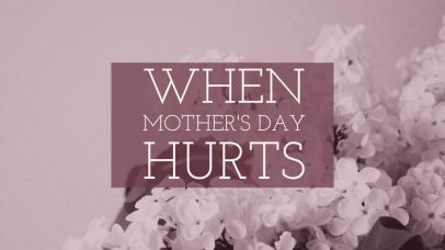 The pain of Mother's Day for the childless – Walking With A Limp
