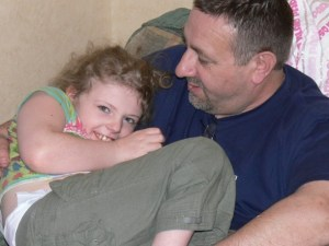 My Daddy and his dearly missed granddaughter Livvy xx